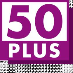 50PLUS Logo